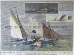26-638  Yachting in Sydney c.1887