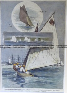26-640  Yachting in Sydney c.1887