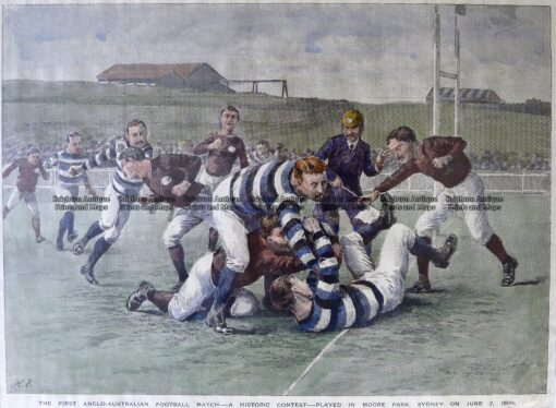 26-641  Rugby in Sydney c.1888