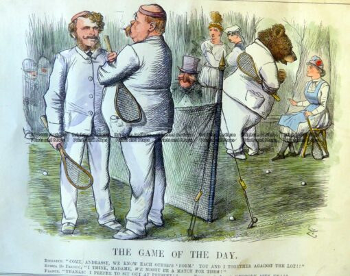 26-647  Tennis – game of the day  c.1879