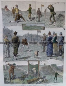 26-649  Golf in Scotland c.1887
