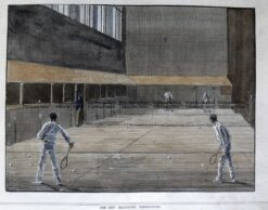 26-660  Royal or Real Tennis in Melbourne  c.1882