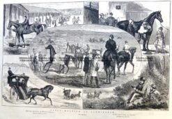 26-669  Flemington horse racing c.1877