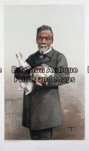 28-348 - Vanity Fair - Louis Pasteur Anon - circa 1887 Chromolithograph 19cm X 32cm Condition A+