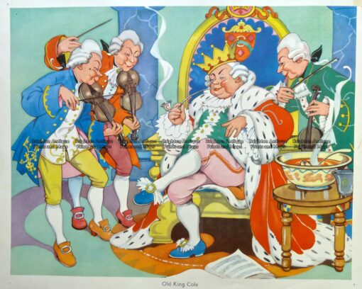 29-337  Nursery Rhyme – Old King Cole  c.1960