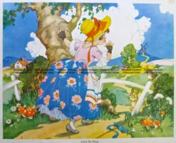 29-344  Nursery Rhyme - Little Bo-Peep  c.1960