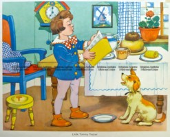 29-346  Nursery Rhyme - Little Tommy Tucker  c.1960