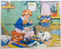 29-348  Nursery Rhyme - Little Jack Horner  c.1960