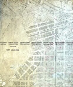 29-492 Port Melbourne street map c.1883