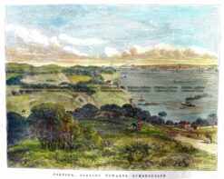 29-503  Portsea looking towards Queenscliff c.1872