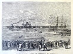 29-832  Navy - Cerberus at Geelong  c.1875