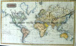 3-810  World by A. Findlay  c.1830