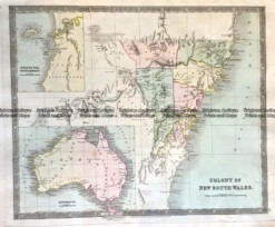 3-818  NSW and Australia by Teasdale c.1844