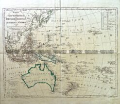 3-821  Australia by Canzler c.1795