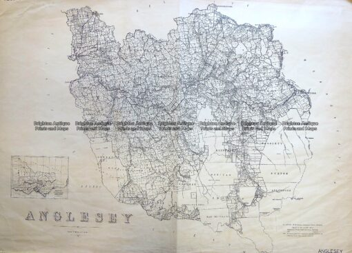 3-824  Victoria – County of Anglesey  c.1958