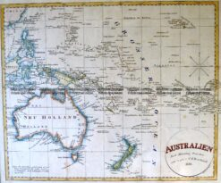 3-866  Australia by C G Reichard c. 1816