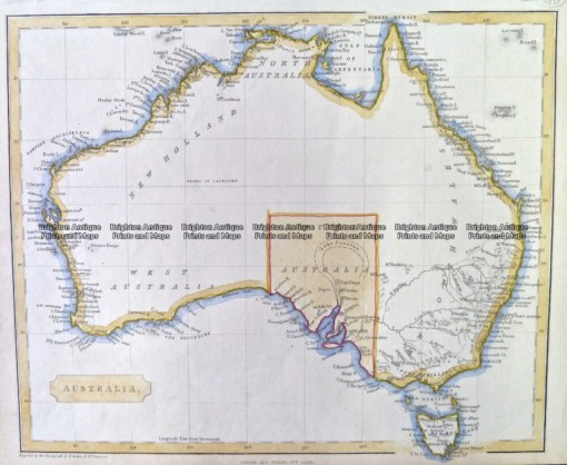 3-995  Australia by Virtue c.1840
