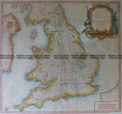 4-183  England and Wales by Robert c.1753