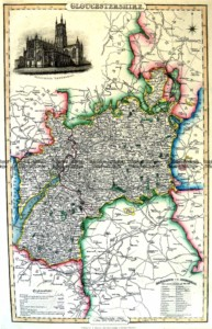 4-192  Gloucestershire by I. Slater c.1847