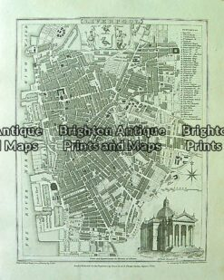4-200  Liverpool street map  by Moule  c.1840