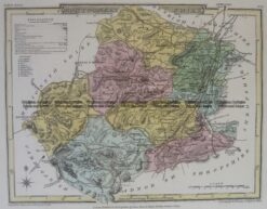 4-205  Wales Montgomeryshire  by J Roper  c.1809