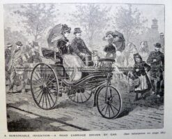 47-002  Benz Automobile  c.1889