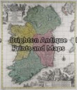 5-034 - Ireland T Lotter - circa 1740 Hand coloured copperplate engraving 50cm X 58cm Condition A+