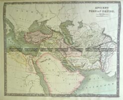 5-050  Persia Empire by Teesdale  c.1844