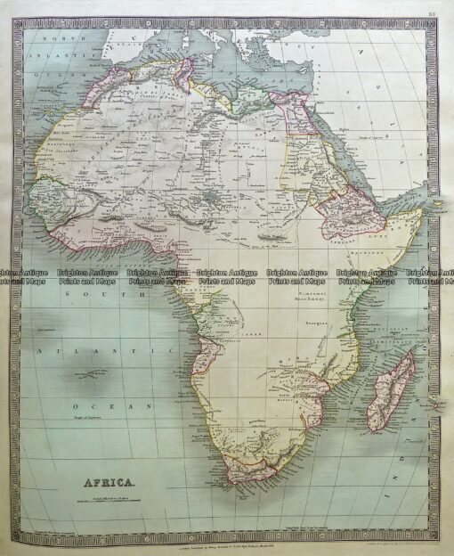 5-057  Africa by tees dale  c.1844