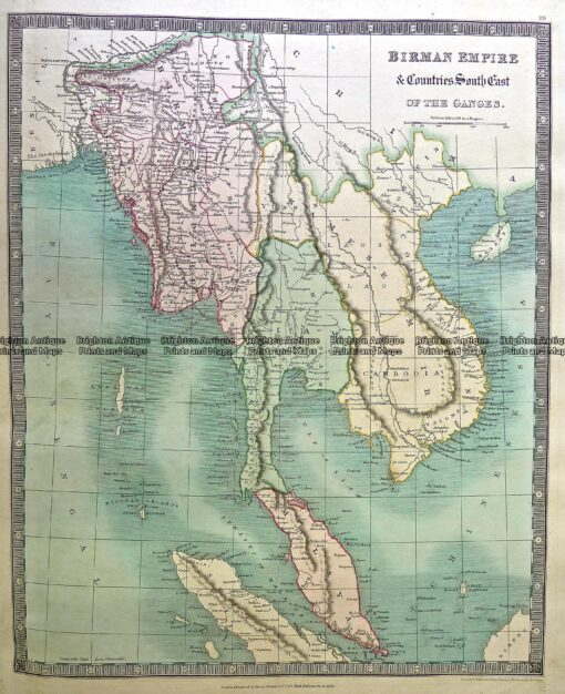 5-058  South East Asia by Teasdale  c.1844