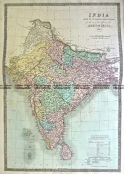 5-059  India by Teasdale  c.1844