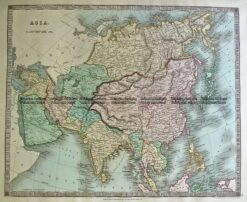 5-060  Asia by Teasdale  c.1844