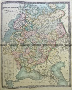 5-069  Russia in Europe by Teasdale  c.1844