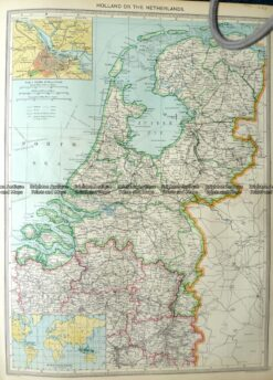 5-165  Holland or The Netherlands by Halmsworth  c.1905