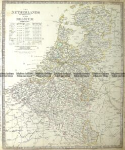 5-167  The Netherlands or Holland and Belgium by S.D.U.K  c.1844