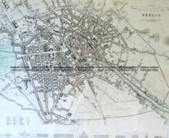 5-179  Berlin street map by S.D.U.K c.1844