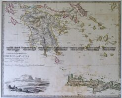 5-189  Greece and Candia by S.D.U.K.  c.1844