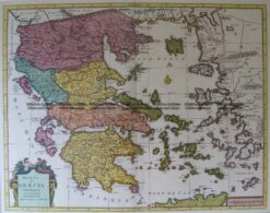 5-190 Greece by Covens & Mortier c.1725