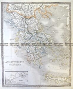 5-193  Ancient Greece  by Teesdale  c.1837
