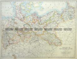 5-224  Germany - Northern by Johnston  c.1886