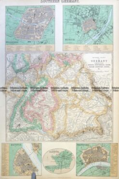 5-226  Germany - Southern by Fullerton  c.1886