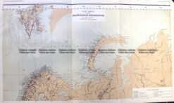 5-238  Russia - Northern region in Europe by Perthes  c.1867