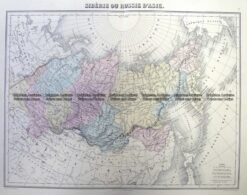 5-255  Russia in Asia by Migeon  c.1860