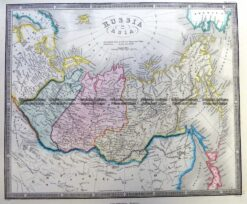 5-256 Russia in Asia by Wyld  c.1853