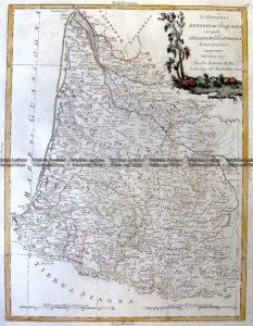 5-258  France - South West by Zatta  c.1776