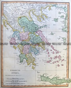 5-263  Greece in Ancient Times by Wilikinson c.1830