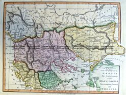 5-265  Macedonia in Ancient Times by Wilkinson c.1830