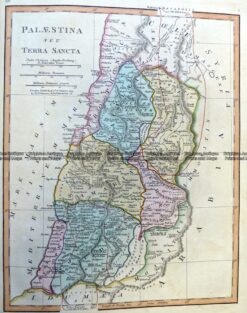 5-267 Palestine in Ancient Times by Wilkinson c.1830