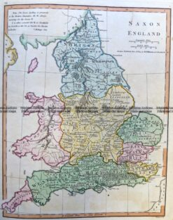 5-268 England in Saxon Times by Wilkinson c.1830