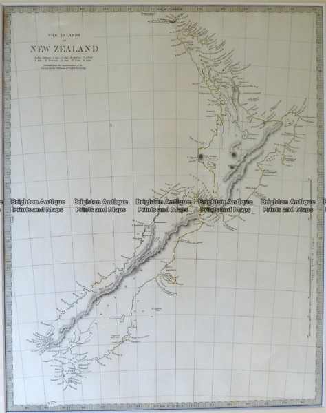 7-064  New Zealand by S.D.U.K. c.1844
